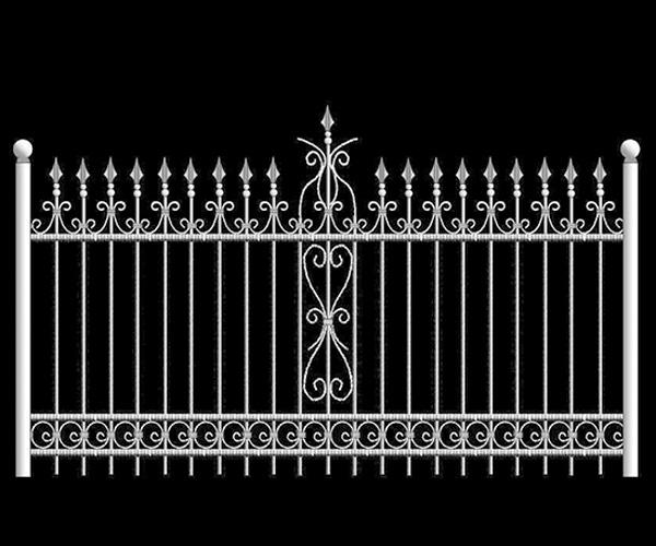 欧式铁艺围栏