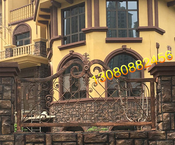 别墅铁艺围栏