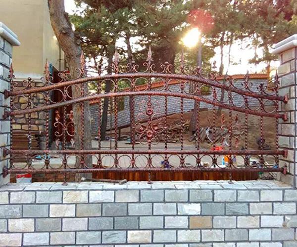 仿古铁艺围栏